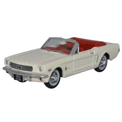 Oxford Wimbledon White Ford Mustang  Convertible 1965