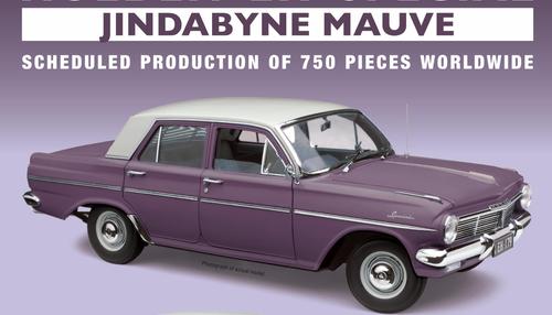 Holden EH Sedan - Jindabyne Mauve
