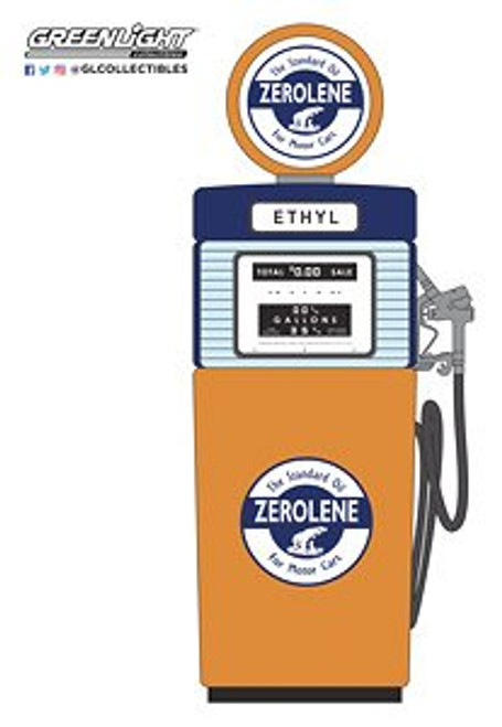 Gas Pumps - Zerolene