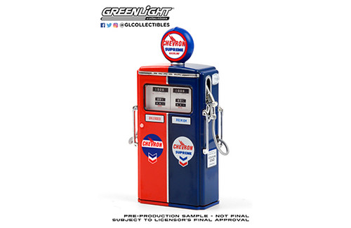 Gas Pumps - Chevron Supreme