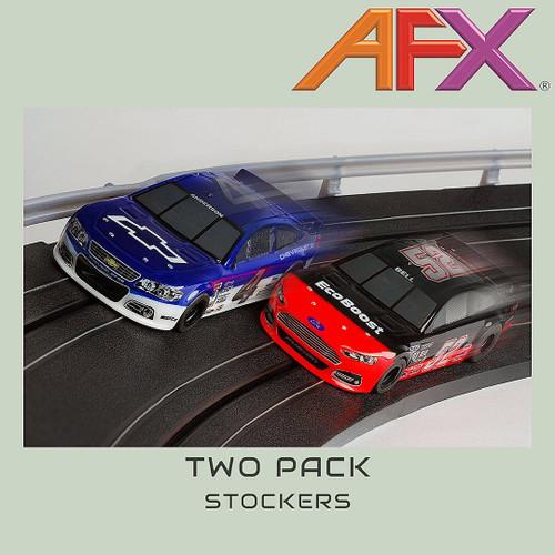 "AFX TWIN PACK STOCKER   "" NEW"""