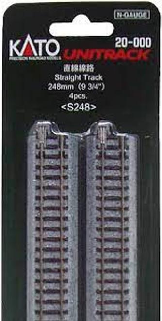 Kato Unitrack Straight 248mm (4)