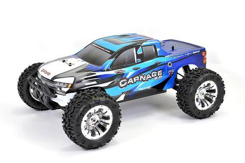 Carnage Blue Brushed Truck w/batt & charger