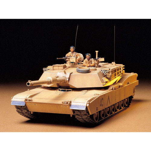 U.S. M1A1 Abrams 120mm Gun Main Battle Tank