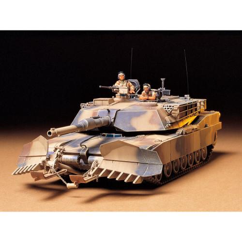 U.S. M1A1 Abrams with Mine Plow