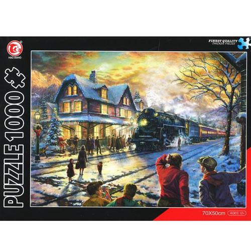 Christmas Train Landscape 1000 Pieces