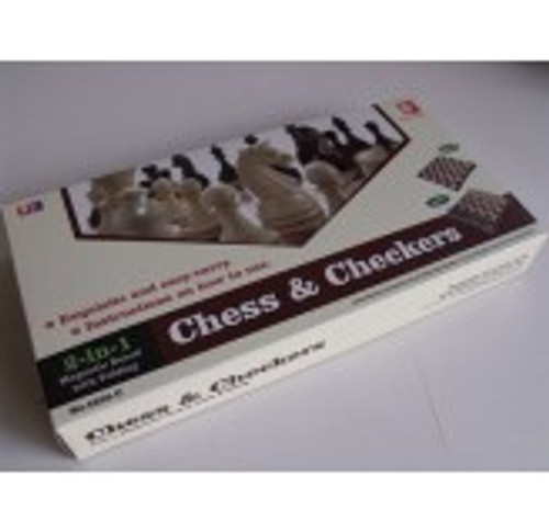 Magnetic Chess / Checkers 12""