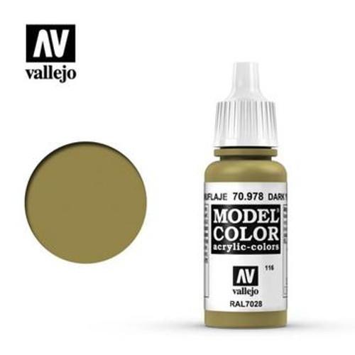 Vallejo Model Color - Dark Yellow