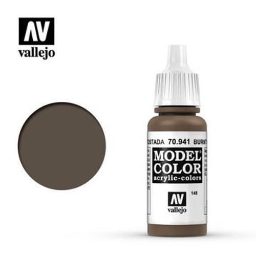 Vallejo Model Color - Burnt Umber