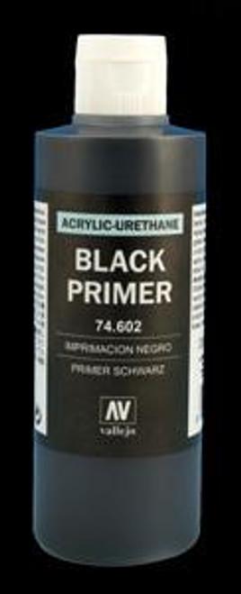 Vallejo Surface Primer Color Black 200ml