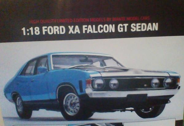 Ford XA Falcon GT Sedan