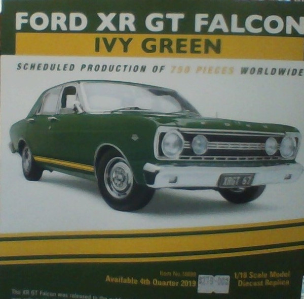 Ford XR GT Falcon Ivy Green