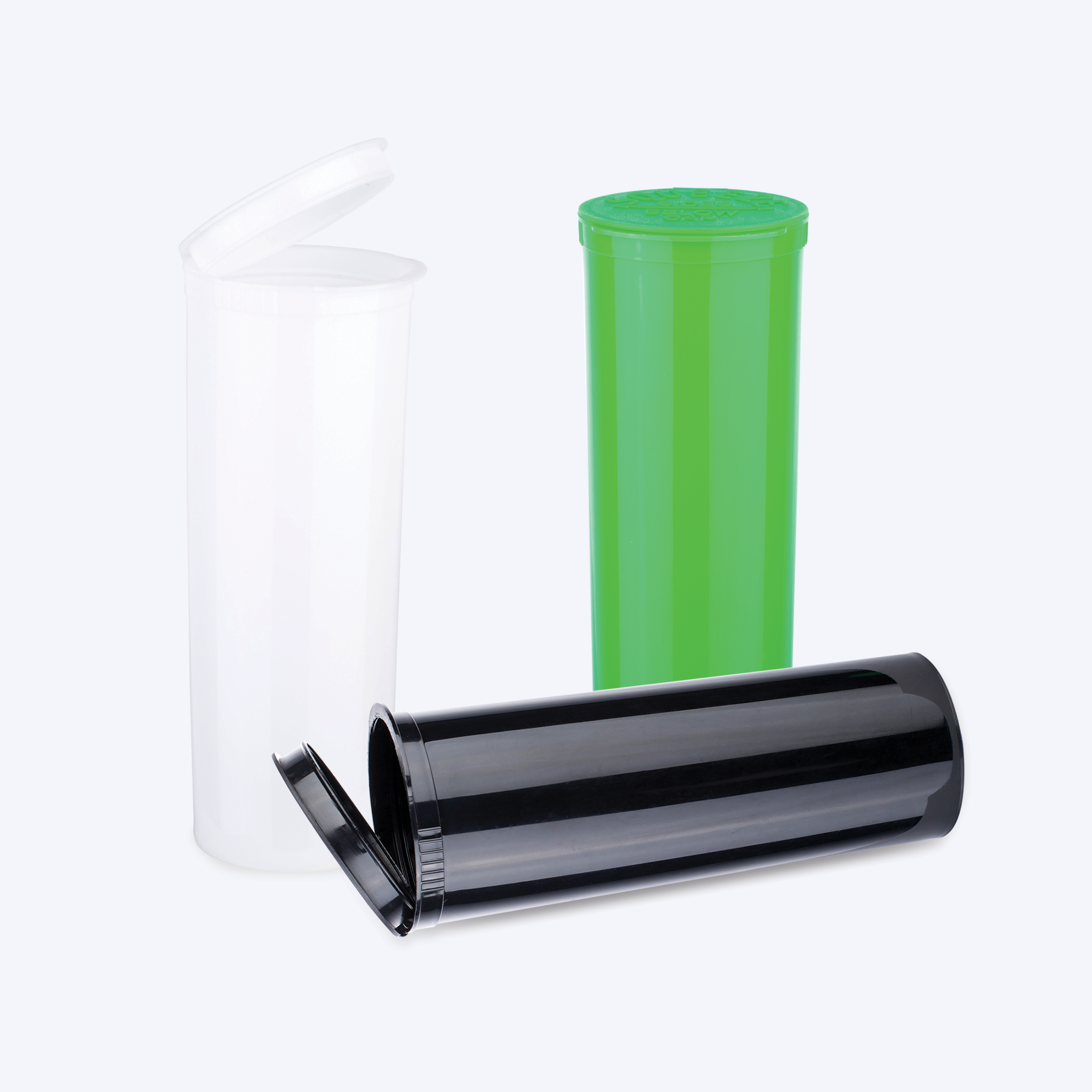 Opaque Pop Top Bottles