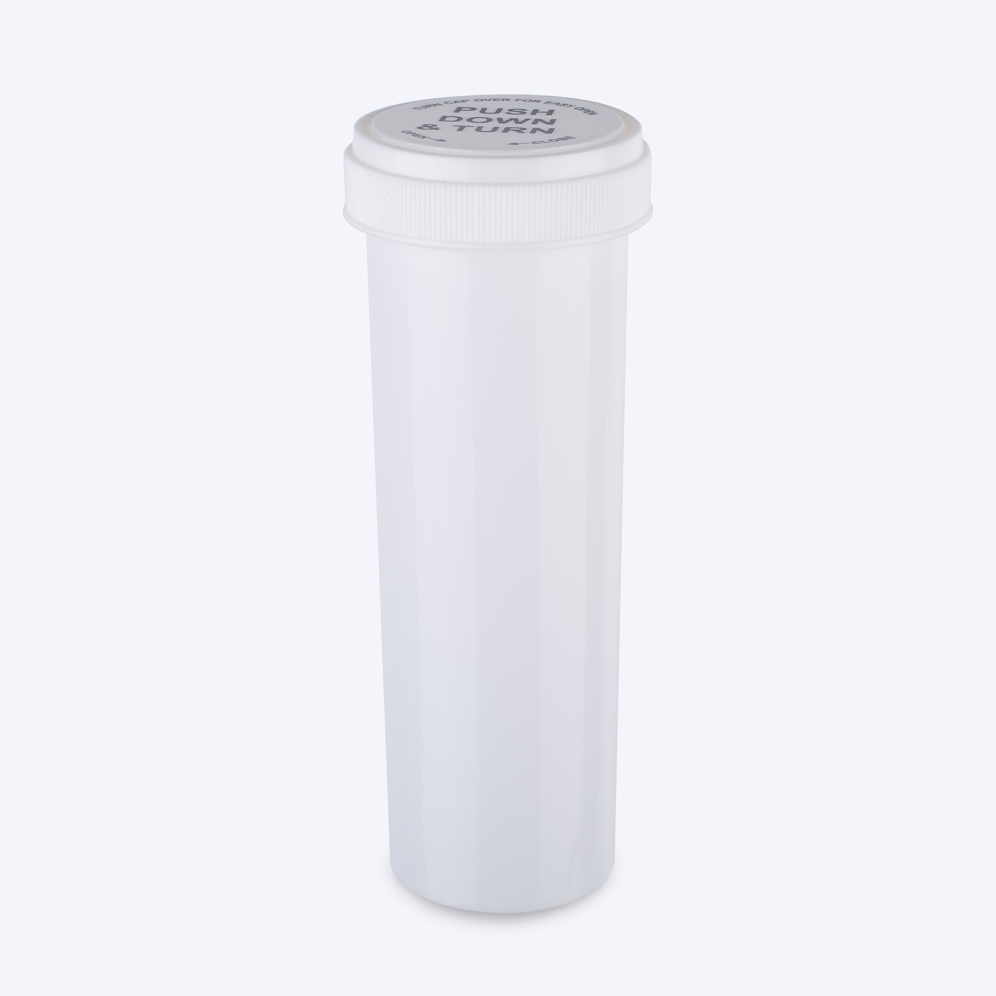 White - Opaque Reversible Cap Vials