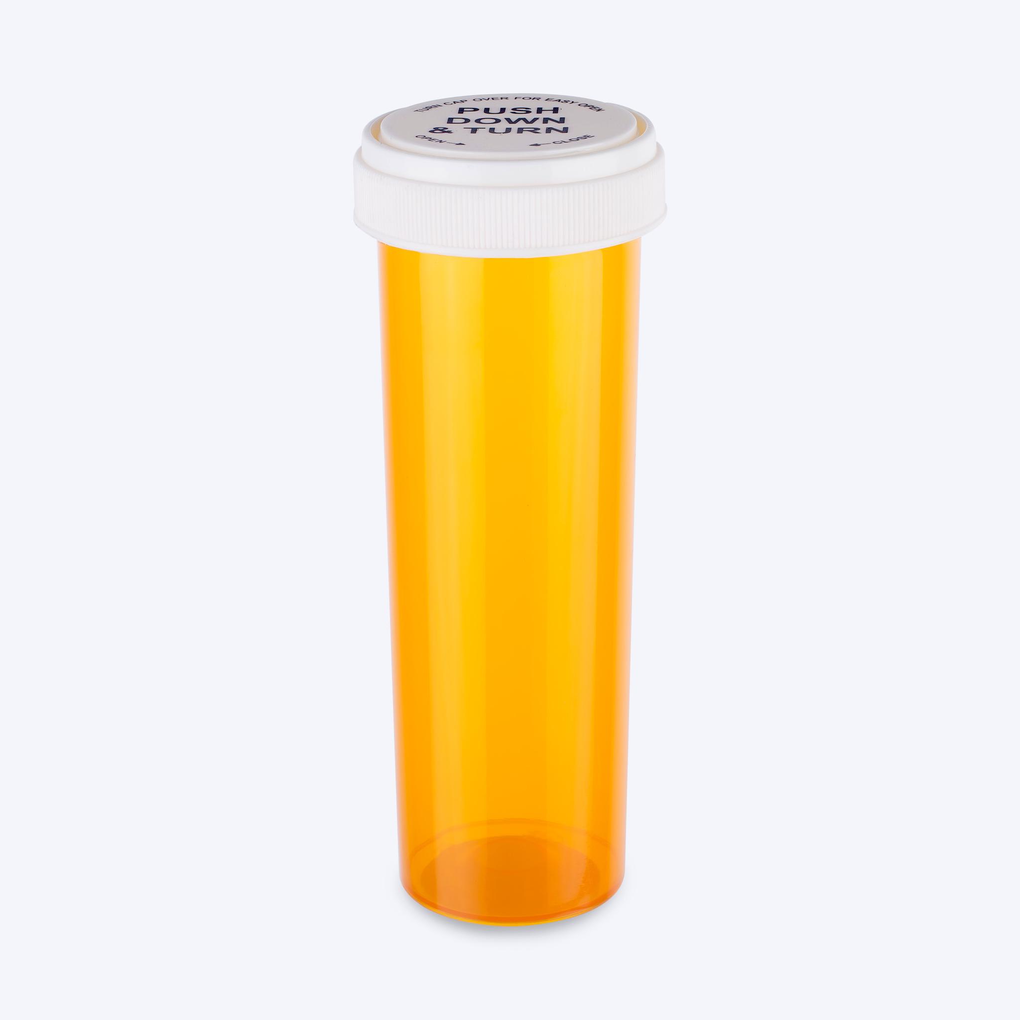 Amber - Reversible Cap Vials