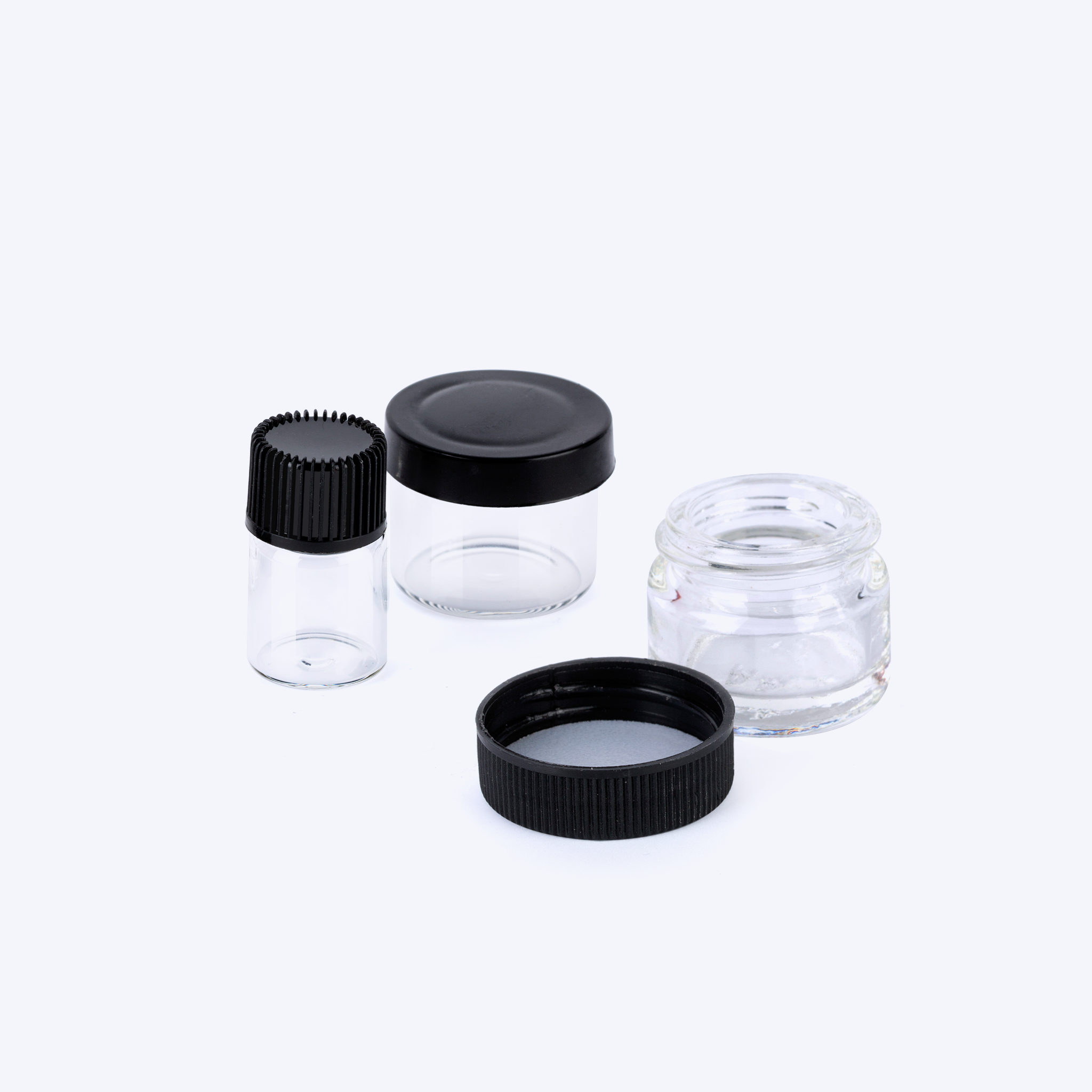 Glass Concentrate Jars