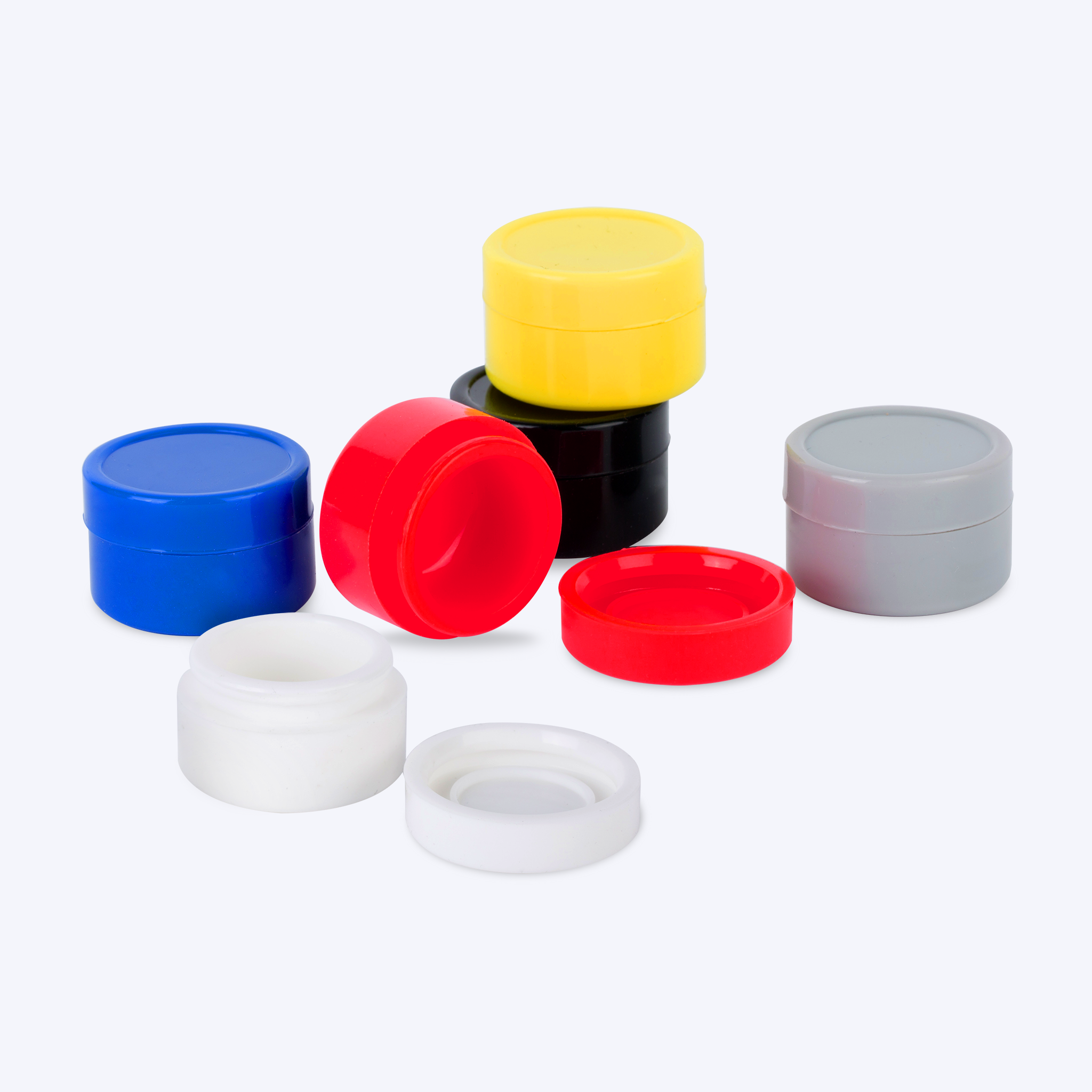 Silicone Concentrate Containers