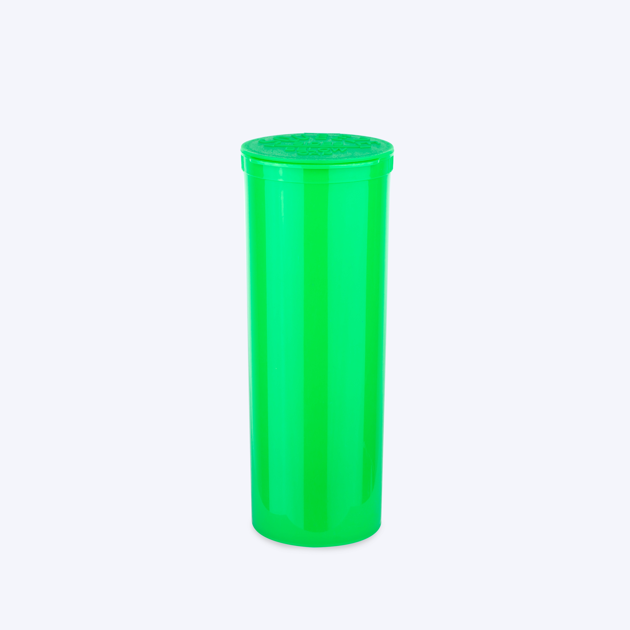 Green - Opaque Pop Top Bottles