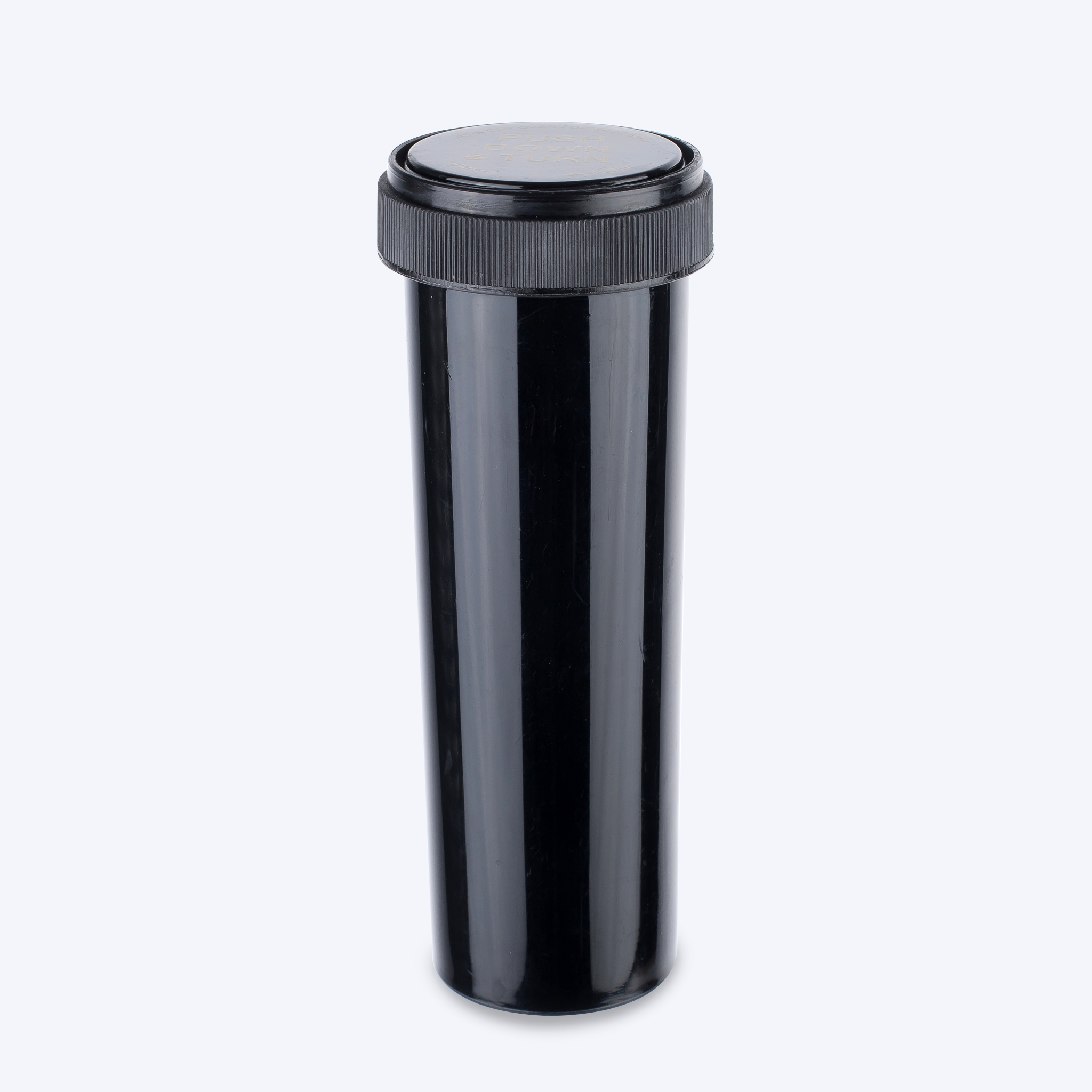Black - Opaque Reversible Cap Vials