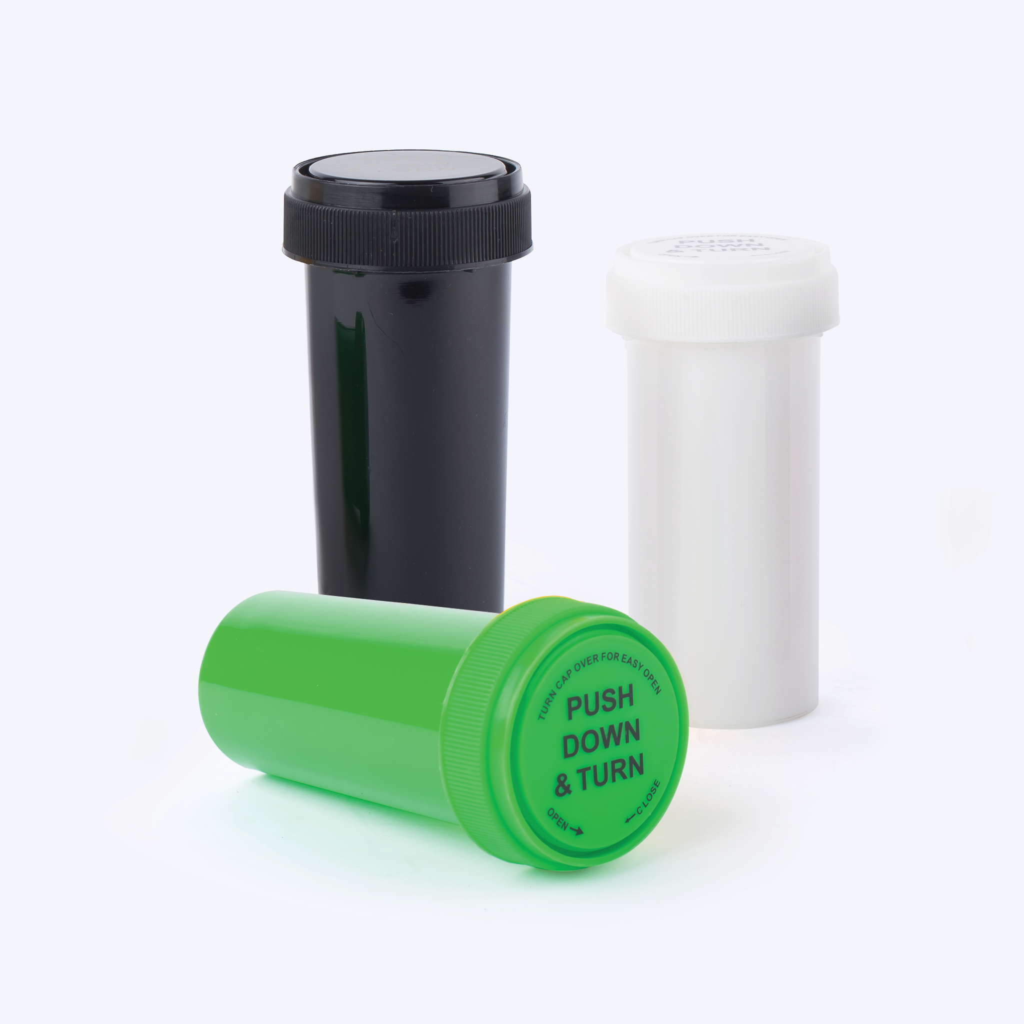Opaque Reversible Cap Vials