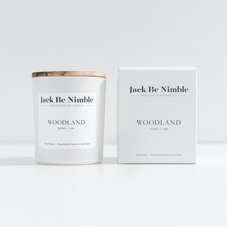 Jack Be Nimble Candles - Woodland Soy 11oz