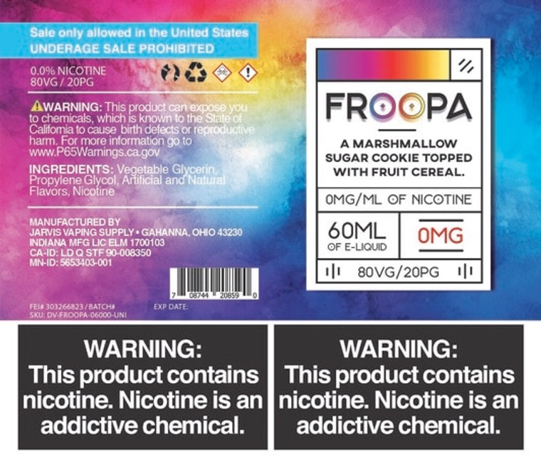 Froopa - 60ml