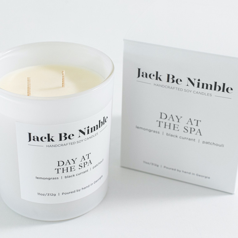 Jack Be Nimble Candles - Day at the spa 11oz