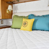 Ultima-Plush Mattress Pad for  Sleeper Sofa Bed