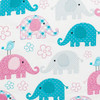 """12""""x 18"""" Trunks & Tweets Printed Travel Pillow Pillow Case (2-Pack) swatch"""