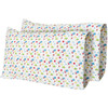 "12""x 18"" Tiny Travels Printed Travel Pillow Pillow Case (2-Pack)"