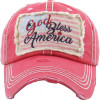 God Bless America Premium Cotton Cap