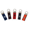 Solid Color Monogrammed Key Chains