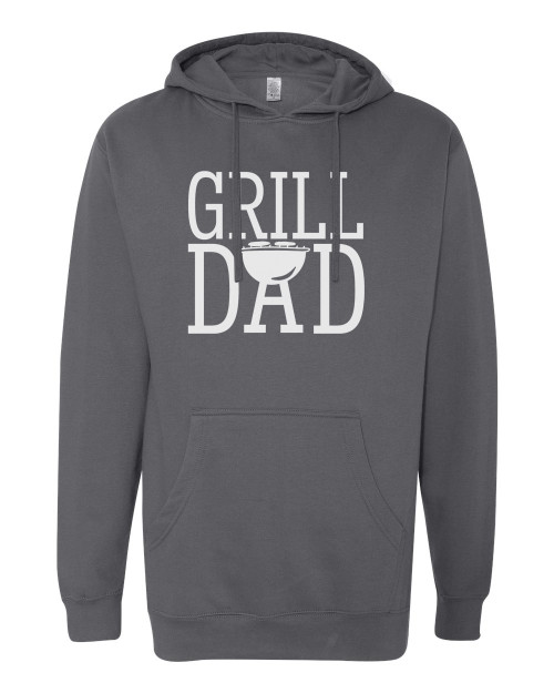 Grill Dad Charcoal Men's Hoodie