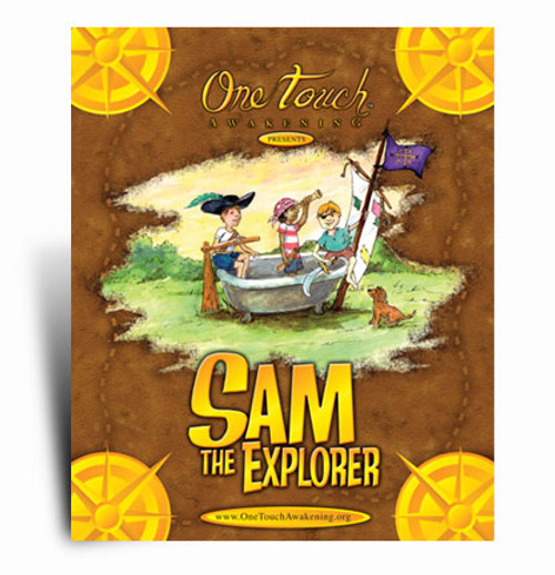 Sam The Explorer Book.  A One Touch exclusive.