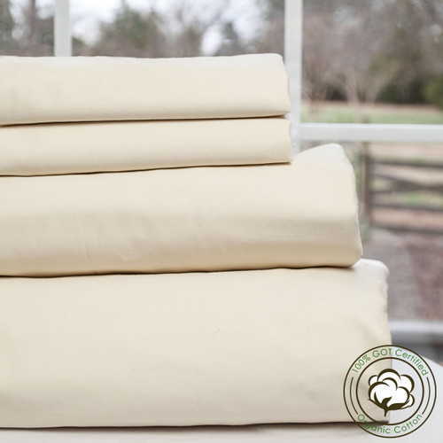 Greenwood Series 100% GOTS Certified Organic Cotton Camper & RV Sheet Sets