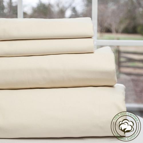 Greenwood Series 100% GOTS Certified Organic Cotton Camper & RV Sheet Sets