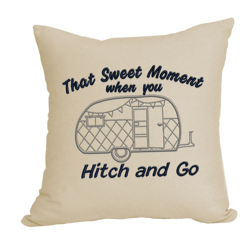 Hitch and Go Decorative Pillow
