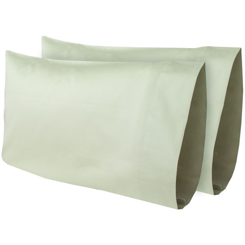 "12""x 18"" Travel Time Travel Pillow Pillow Case (2-Pack) (353-73007/2PACK TRA PC) sage"