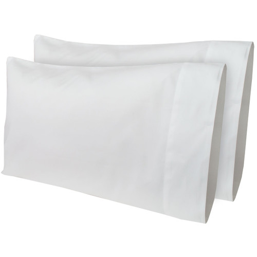 "14""X 21"" Travel Time Travel Pillow Pillow Case (2-Pack) (353-73007/2-PACK 14X21 TRA PC) WHITE"