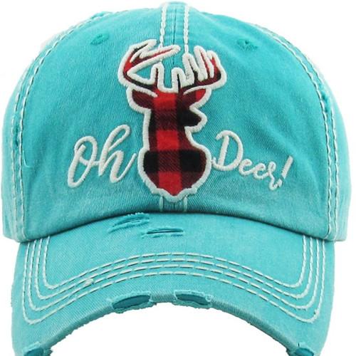 Oh Deer! Premium Cotton Cap