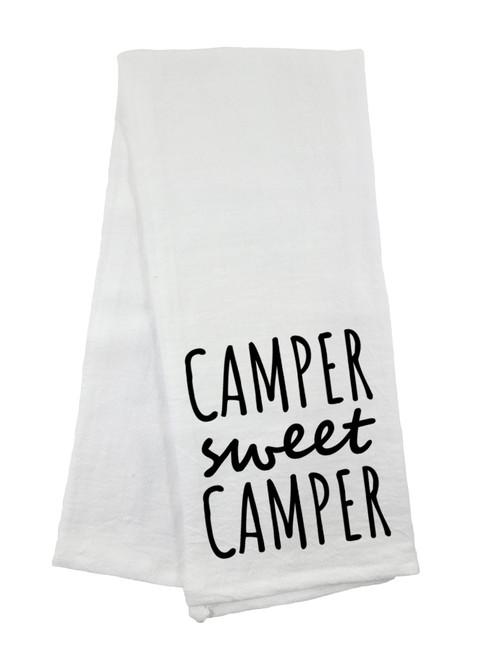 Camper Sweet Camper Flour Sack Towel
