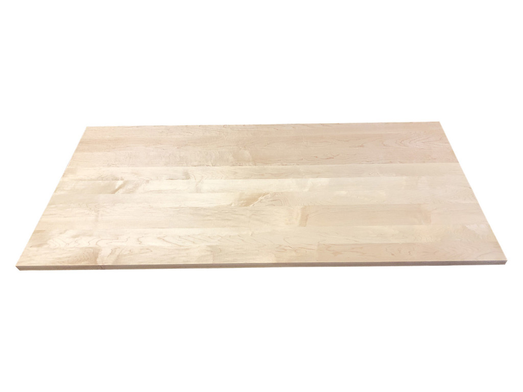 Wood Computer Desk Top in Hard Maple