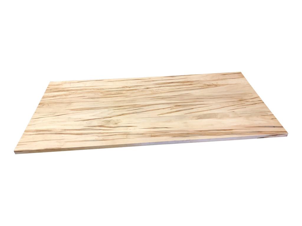Wood Computer Desk Top in Ambrosia Maple