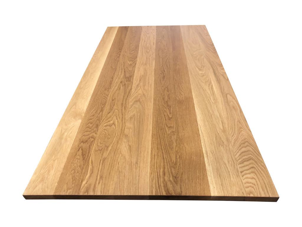 Solid Wood Desk Top in White Oak