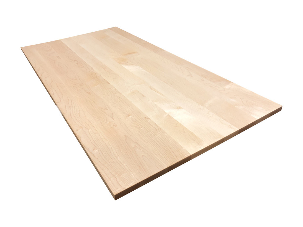 Hard Maple Wooden Desk Top