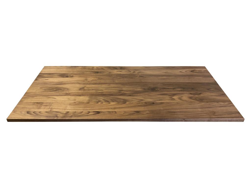 Solid Wood Desk Top in Walnut