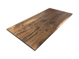 Knotty Walnut Wooden Desk Top