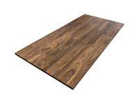 Walnut Wood Office Desk Top