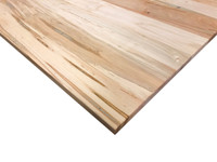 Solid Wood Desk Top in Ambrosia Maple