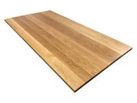 White Oak Executive Desk Top